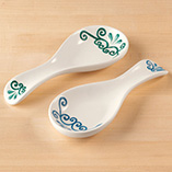 Scroll Spoon Rest