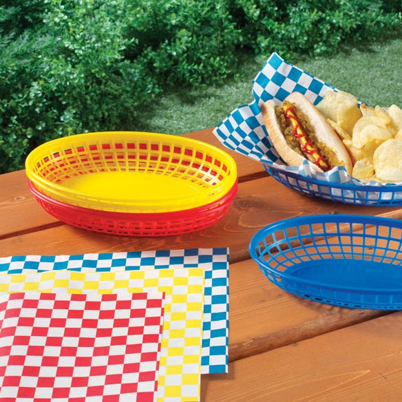 Burger Baskets and Liners