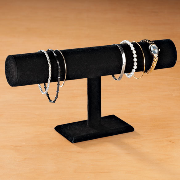 Black Velour Bracelet Display