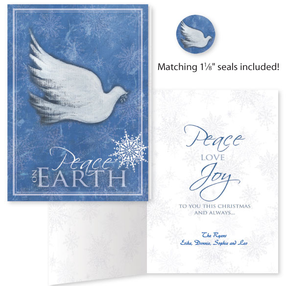 Dove of Peace Card Set of 20