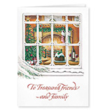 View All - Treasured Friends Christmas Card Set of 20