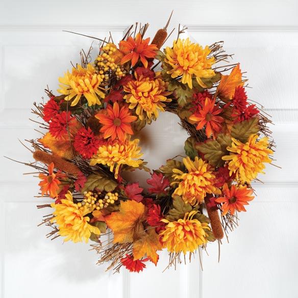 Mum Wreath