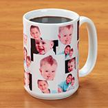 Photo Gifts - Photo Collage Mug