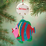 Ornaments - Personalized Tropical Fish Ornament