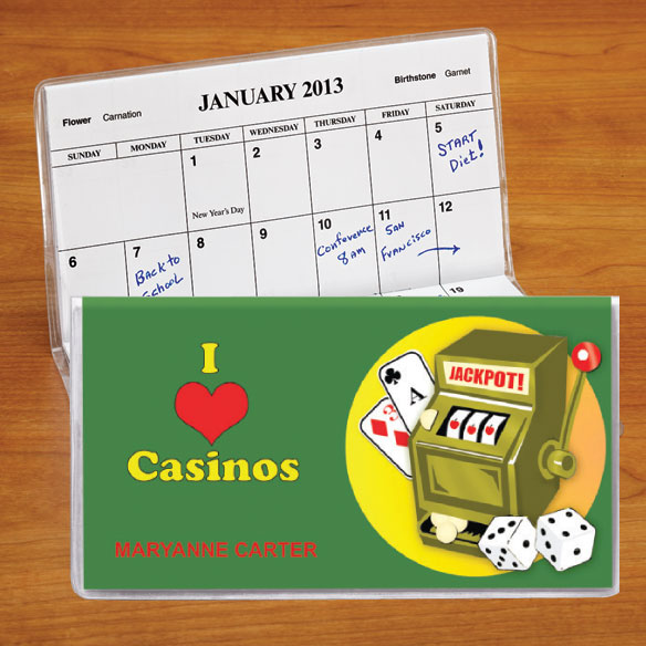 Personalized Casino 2 Year Planner