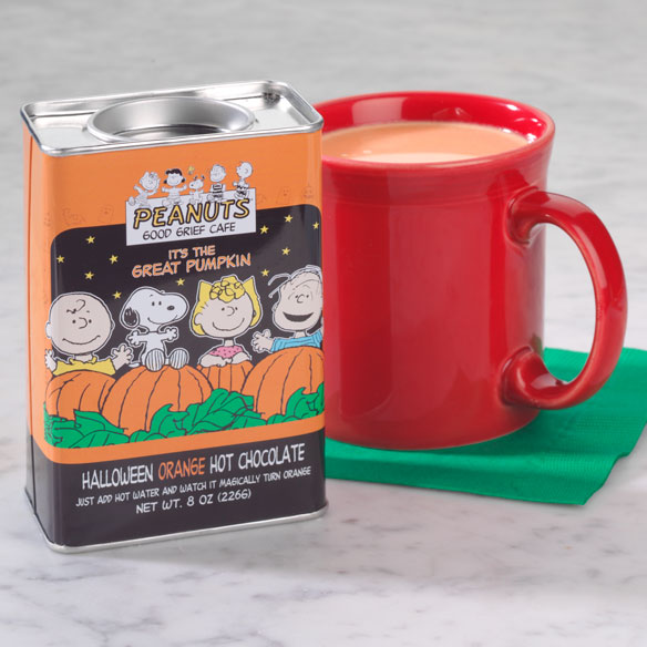 Peanuts® Orange Hot Chocolate