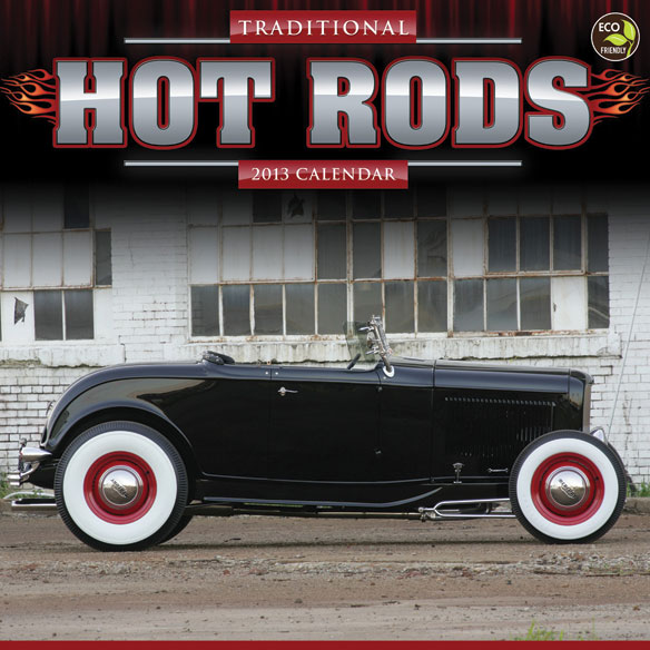 Hot Rods Wall Calendar
