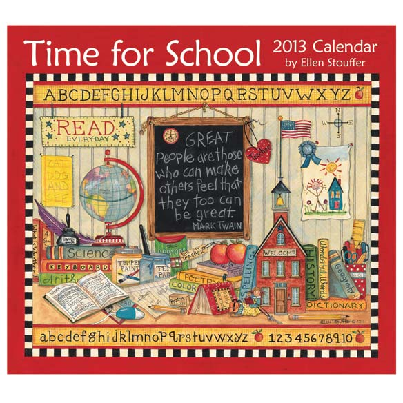 Time for School Wall Calendar
