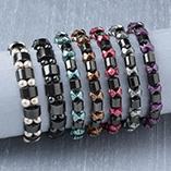 View All Jewelry & Keychains - Hematite Bracelet
