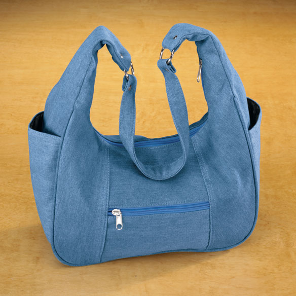 Denim Hobo Handbag