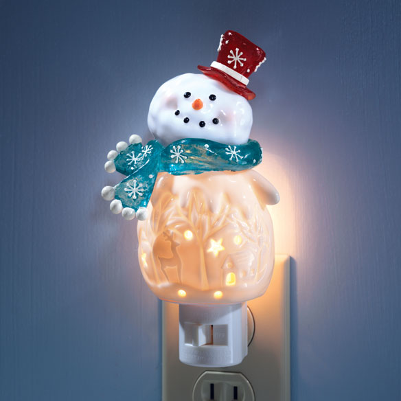 Snowman Nightlight