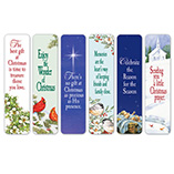 View All Books & Reading - Christmas Bookmarks Set of 12