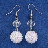 Accessories - Snowball Glitz Earrings