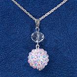 Accessories - Snowball Glitz Necklace
