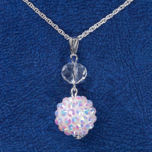 Snowball Glitz Necklace