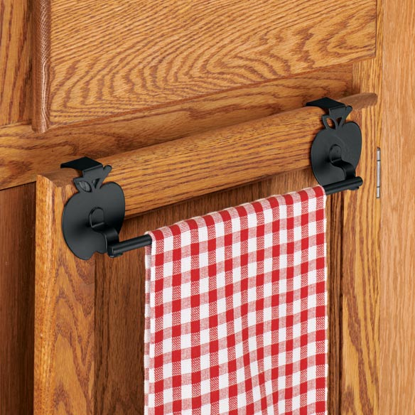 Apple Over The Cabinet Towel Bar