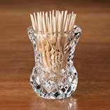 $8.99 and Under Kitchen Gadgets - Glass Toothpick Holder