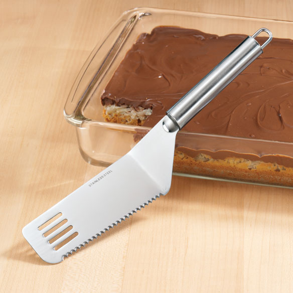 Cut & Serve Stainless Steel Spatula