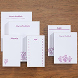 Flower Notepads Refill Set/6