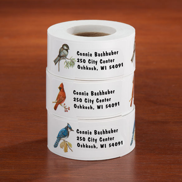 Bird Address Labels