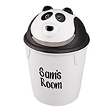 Personalized Childrens Panda Wastebasket