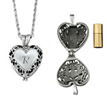 Apparel & Jewelry - Personalized Memorial Urn Locket