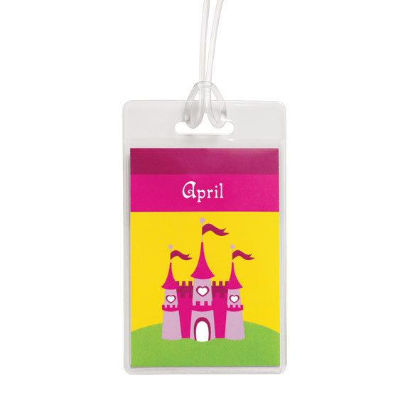 Personalized Princess Luggage Tag