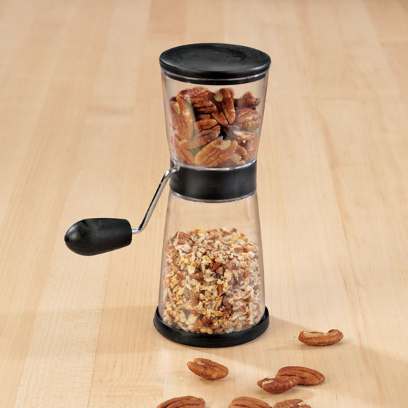 Easy-Crank Nut Chopper