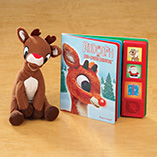 Books, Music & Movies - Rudolph Book And Plush Toy