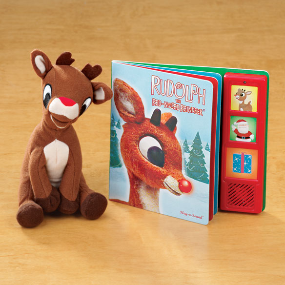 Rudolph Book And Plush Toy