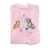 Everyday Sweatshirts - Curious Kittens Sweatshirt