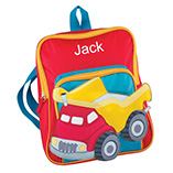 Children's Products - Personalized Truck Backpack