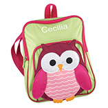 Apparel, Totes & Accessories - Personalized Owl Backpack