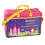 Children's Products - Personalized Girls Going To Grandma's Tote