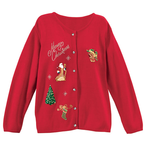 Merry Christmas Sweater 2X-3X