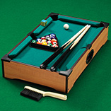 Puzzles, Games & Playing Cards - Tabletop Pool Table