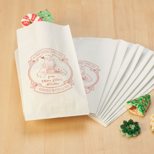 Christmas Bakery Bags, Set of 12