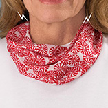 Peppermint Candy Magnetic Neck Cowl