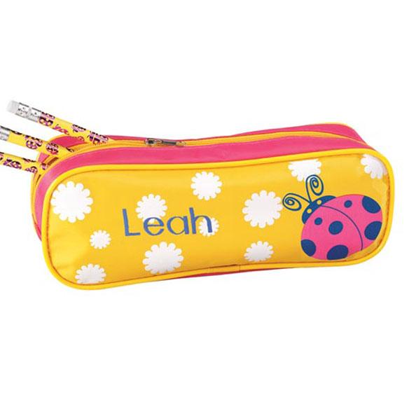 Personalized Ladybug Pencil Case