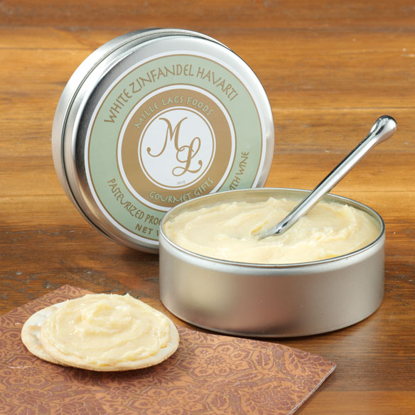 White Zinfandel Havarti Cheese Spread Tin