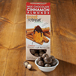 Milk Chocolate Cinnamon Flavor Roasted Almonds