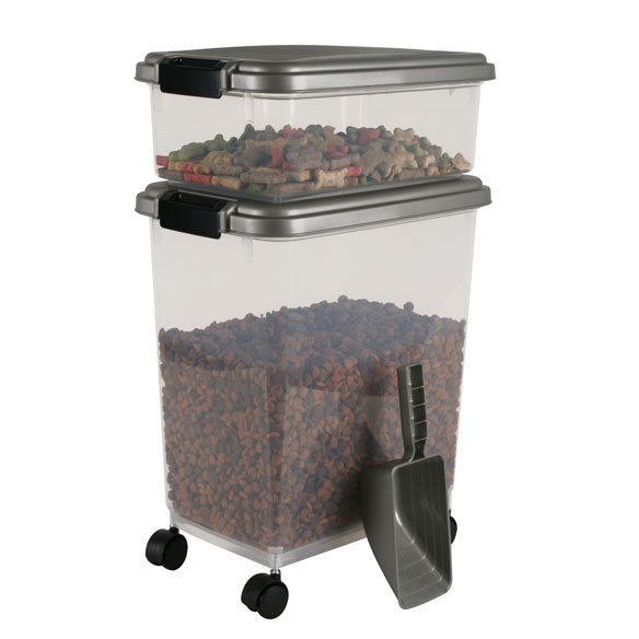 Airtight Container Combo w/ Scoop, Chrome