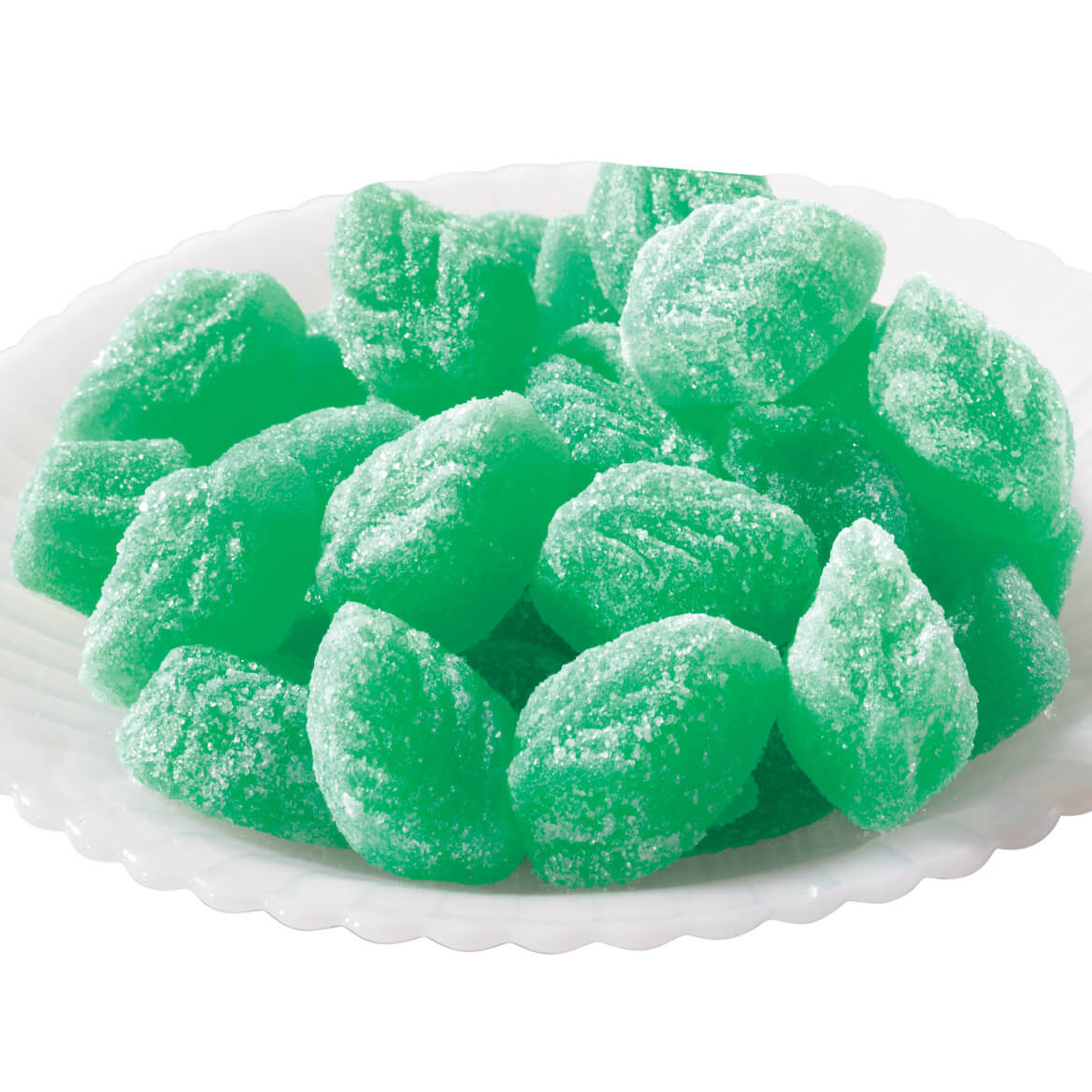 Spearmint Jelly Leaves, 24 oz.