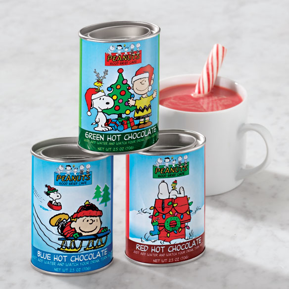 Christmas Peanuts™ Hot Chocolate Trio