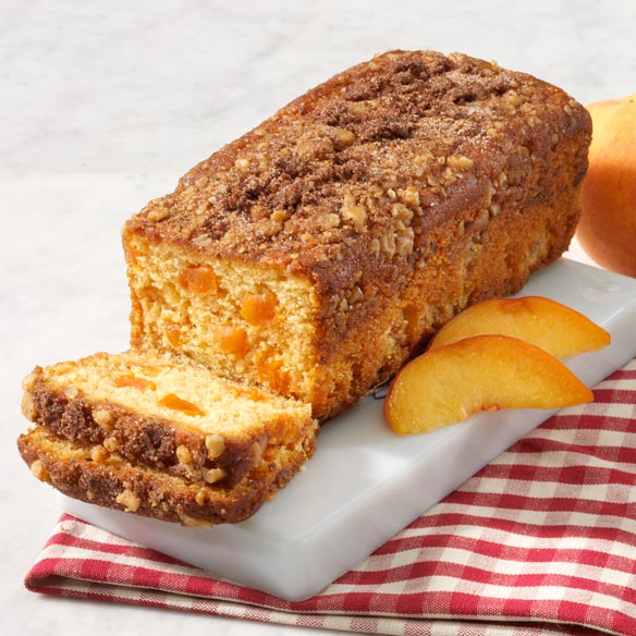 Peach Struesel Coffee Cake