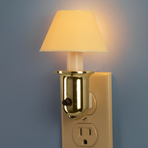 Brass Lamp Nightlight