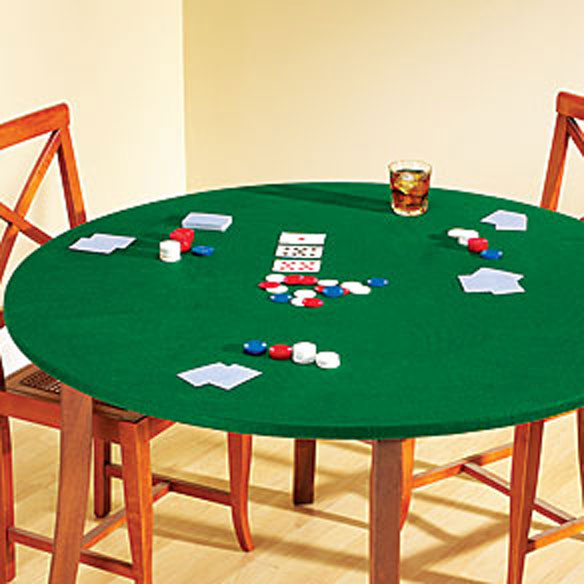 Felt game table cover elastic table covers miles kimball