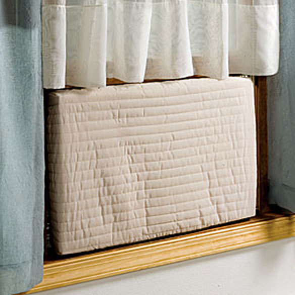 Indoor Air Conditioner Cover Energy Savers Miles Kimball