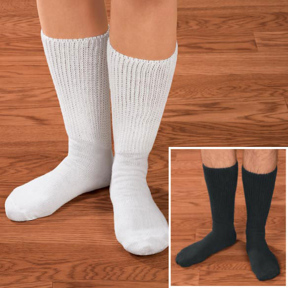 Diabetic Calf Socks 2 Pair