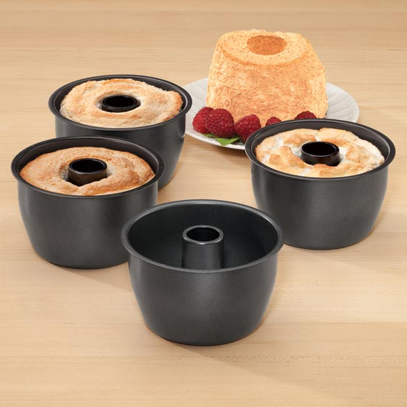 Mini Angel Food Cake Pans, Set of 4